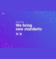 Landing page background gradient design abstract