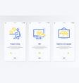 program coding seo digital law and copyright vector image