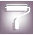 Roller icon with shadow vector image vector image