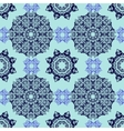 Seamless decorative pattern in oriental style vector image