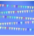 Set of Colorful Flags vector image vector image