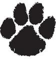 tiger paw logo mascot vector image vector image