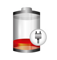 battery level vector image