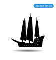 ship icon eps 10 vector image vector image