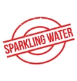 Sparkling Water rubber stamp vector image vector image