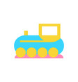 toy train for kids play icon vector image vector image