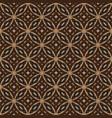 art work modern circle motifs on batik design