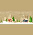 Christmas and new year card christmas tree