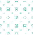 playing icons pattern seamless white background vector image vector image