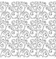 seamless pattern zentangle ornament coloring book vector image vector image