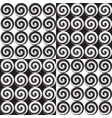 set of four seamless monochrome pattern vector image