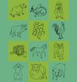 twelve animals of the chinese horoscope