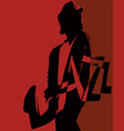 musical jazz festival vector image