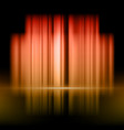 abstract background with red and yellow lights vector image