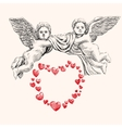 angel or cupid llustration vector image vector image