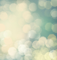 Classic bokeh background vector image