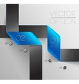 Design elements for options vector image vector image