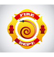 fire icons design vector image vector image