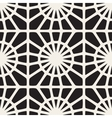 Seamless Black and White Mosaic Lace vector image vector image