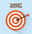 target shooting vector image vector image