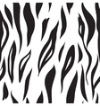 tiger seamless texture abstract background vector image vector image