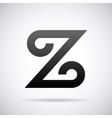 logo for letter Z Design template vector image