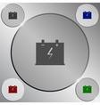Car battery icon vector image vector image