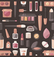cosmetic beauty make up cosmetology for vector image vector image