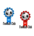 Football Club emblem vector image vector image