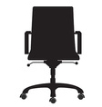 Office chair vector image