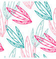 pattern plant decorative graphic vector image