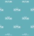 podium pedestal pattern seamless blue vector image