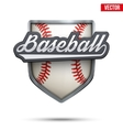 Premium symbol of Baseball label
