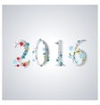 The background image for the new year vector image vector image