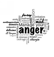 Anger management banner vector image vector image