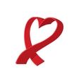 Breast cancer cartoon icon vector image vector image