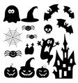 Icons for Halloveen vector image