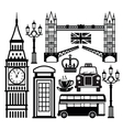 london icon vector image vector image