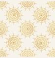 seamless pattern in eastern oriental islamic vector image