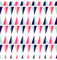 seamless pattern with geometric triangle shapes vector image vector image