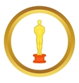 Cinema gold award icon