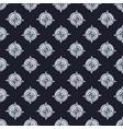 compass seamless pattern dark textile design vector image vector image