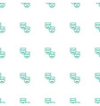 mask icon pattern seamless white background vector image vector image