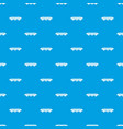 monorail train pattern seamless blue vector image vector image