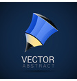 pencil icon geometric design in vector image vector image
