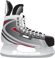 ice hockey skate vector image