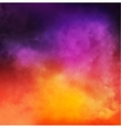 Abstract Colorful Smoky Background vector image vector image
