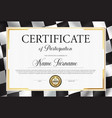 certificate participation diploma template