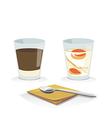 coffeeegg vector image vector image