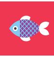 Fish Icon Animal vector image vector image